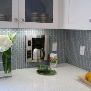 Extremely Cute Frosted White Glass Subway Tile For Modern Kitchen Also Cool White