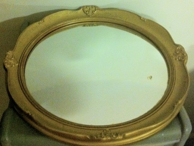 Fish eye convex Mirror in gold coloured frame sixties, mid century modern by Maggiescarlet on Etsy