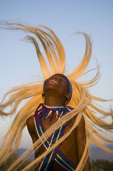 Africa   Intore dancer flicking his hair. Rwanda   © Ariadne Van Zandbergen