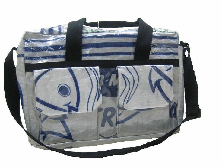 Handbag made from Recycled Food Sac