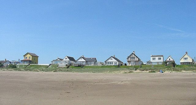 Anderby Creek, Lincolnshire, beach houses | Flickr - Photo Sharing!