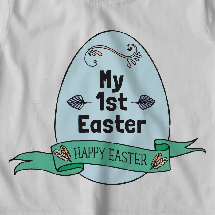 My 1st Easter (and 2nd, 3rd, 4th .....) | easter t-shirts | Personalised Tshirts | Boys clothes