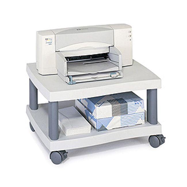 Safco Wave Under Desk Printer Machine Stand, #1861GR