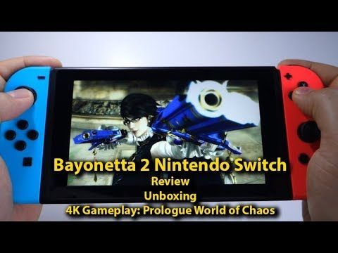 Bayonetta 2 Nintendo Switch - Review, unboxing & gameplay: Prologue World of Chaos - Andrasi.ro