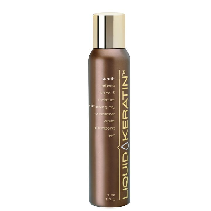 Keratin Infused Shine and Moisture Renewing Dry Conditioner, zaps excess oil + odor and hydrates dulled hair