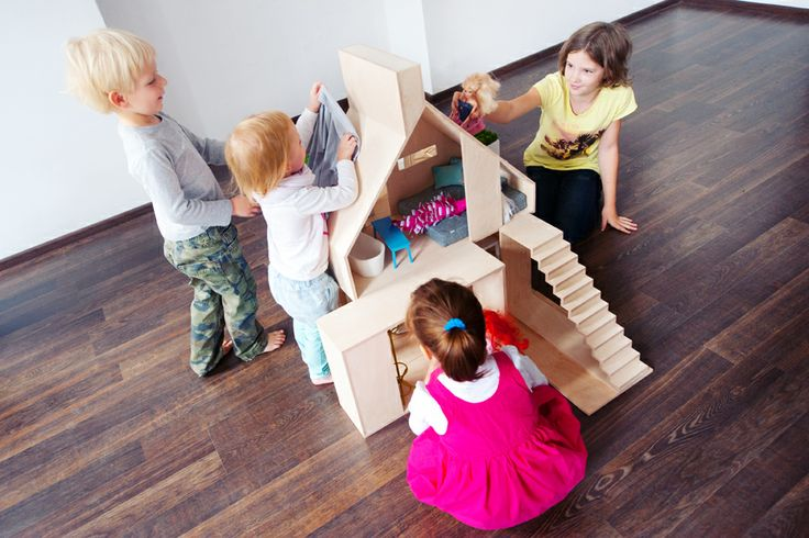 Boomini Wood allows several kids to play at a time