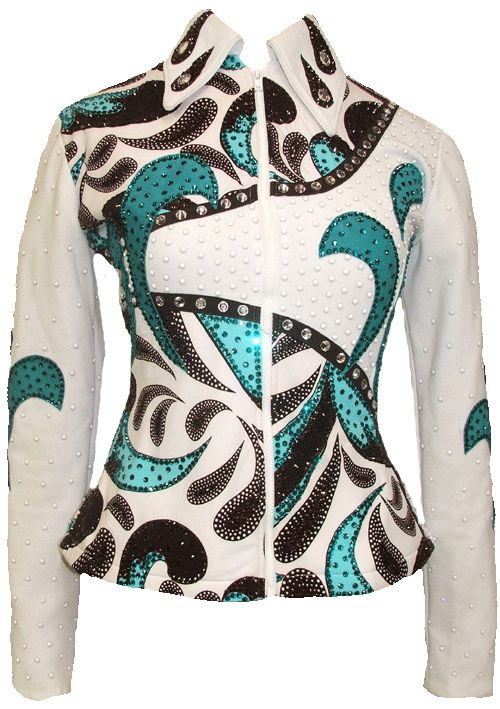 Turquoise Paisley Jacket