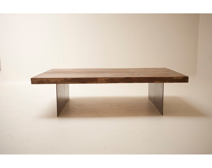 Coffee Table   Handmade With Naturally Fallen Wood And Reclaimed Steel. By  Blake Avenue