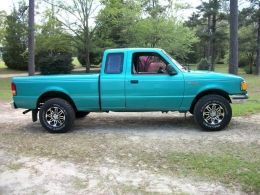 1994 Ford Ranger XLT by Teal Ranger http://www.truckbuilds.net/1994-ford-ranger-xlt-build-by-teal-ranger