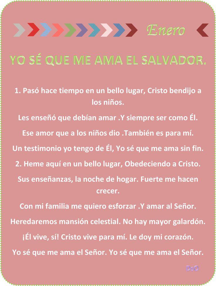 YO SE QUE ME AMA EL SALVADOR.
