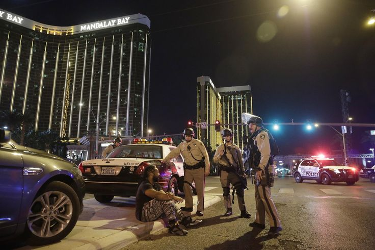 Las Vegas Massacre Raises Concerns About Safety at Live Events  Police officers stand at the scene of a shooting near the Mandalay Bay resort and casino on the Las Vegas Strip Sunday Oct. 1 2017 in Las Vegas. Multiple victims were being transported to hospitals after a shooting late Sunday at a music festival on the Las Vegas Strip. John Locher / Associated Press  The shooting attack at a Las Vegas concert on Sunday night that killed at least 50 people is the latest in a series of massacres…