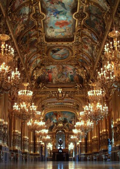 An opera ballet at Opera Garnier is a magnificent experience neither of you will forget.