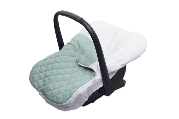 carseat cover Fabs World   #stitched #quilted # mint #Fabs Wold #removeable footmuff  shop:Fabs Store