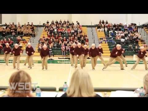 West Springfield Dance Team 2013 Old People GMU - YouTube