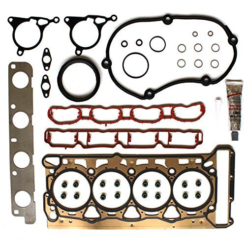 ECCPP Engine Cylinder Head Gasket Set Kit For 2008 - 2013 Audi 2008 - 2010 2012 Volkswagen Jetta 2.0L l4 DOHC  Please verify your year, make and model in the product details before purchasing  Meets or exceeds OEM performance requirements  Provides ease of part sourcing for great convenience  Interchange Part Number:023747501,743227600  High Quality Head Gasket Kit at Affordable Price ,One Year Warranty