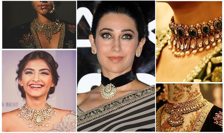 Two traditional Indian necklace trend not to be missed this festive season 2. Traditional Choker. we know TWO doesn't sound a good enough representation of anything but believe us there are usually two or three trends that multiple into variations that we see around, runway to your drawer, get inspired now