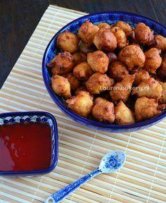 Hartige oliebollen: Oosterse borrelbolletjes - Laura's Bakery