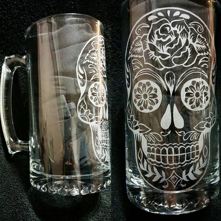 Sugar Skull Beer Stein - My Sugar Skulls  #sugarskull #sugarskulls…