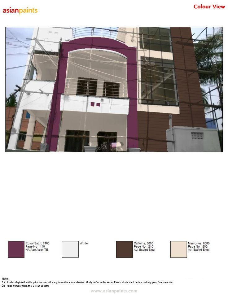 Asian Paints Front Elevation Colours : Asian paints colors for elevation joy studio design