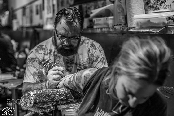 Datonk hard at work... by Joram Krol on 500px