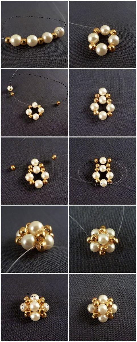 Homemade hoop earrings handmade earrings Nottingham #creolen #handcrafted …