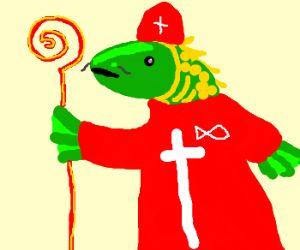 Fish Pope