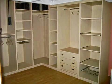 Closet Ideas, Closets, Hidden Storage, Carpentry, Storage Solutions,  Woodworking, Google, Corner Cabinet, Wardrobe