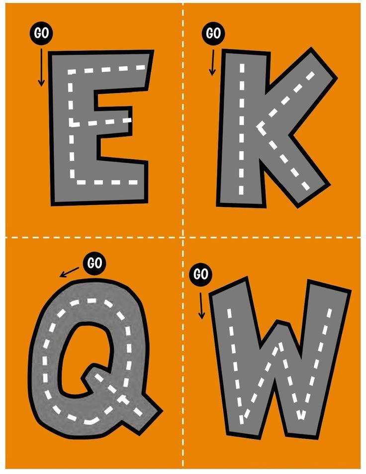 Os hemos preparado este fantástico abecedario o alfabeto para trabajar la motricidad dado su forma de carretera es ideal para los más peques. El control de la motricidad fina es …