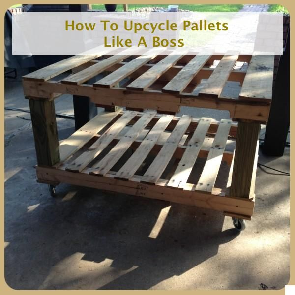 Do It Yourself Furniture Ideas: Do It Yourself Pallet Projects