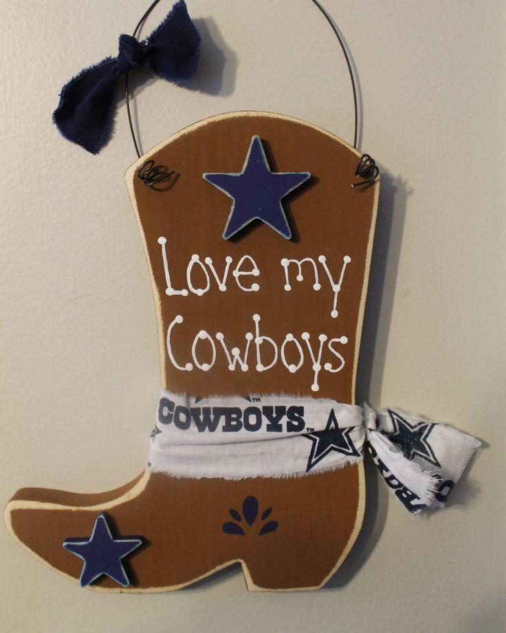 Dallas Cowboys Welcome Home Sign: 79 Best Cowboy Boot Door Hanger Images On Pinterest