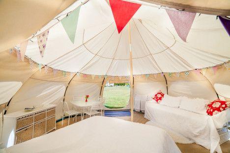 Lotus Tent: Yurt-Like Shelter Packs Into Duffel Bag
