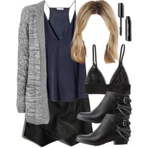Edgy Hanna Marin inspired house party outfit