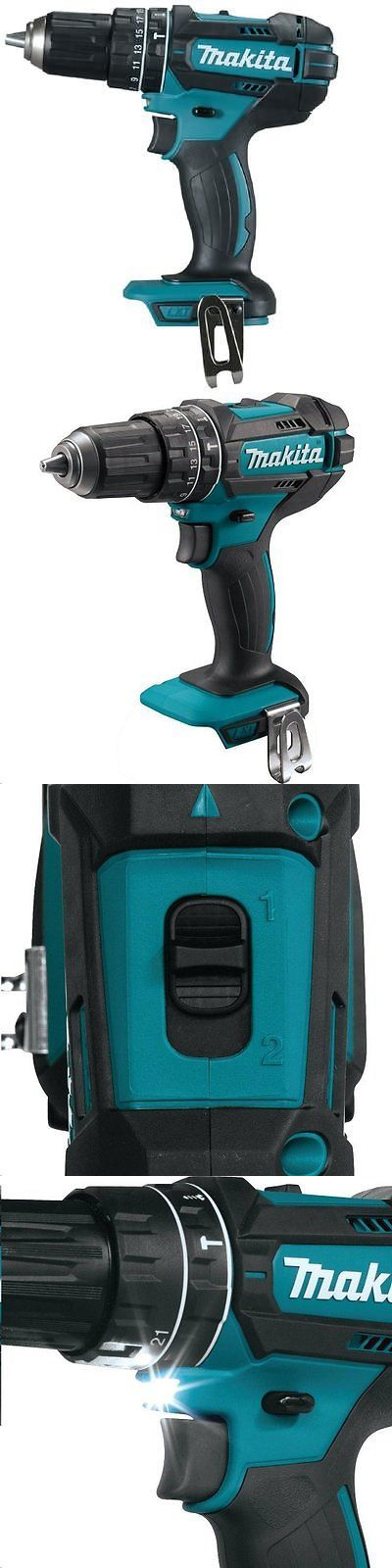 Cordless Drills 71302: New Makita Xph10z 18V Lxt Cordless Li-Ion 1 2 Hammer Drill Driver Tool Only -> BUY IT NOW ONLY: $49.89 on eBay!
