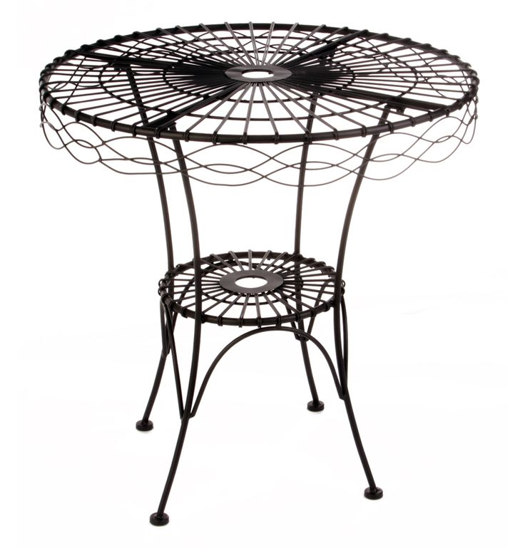 Margot Wire Table - Matt Blatt