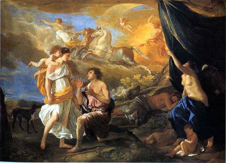 Diane et Endymion 1630 - Nicolas Poussin