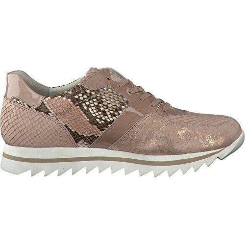 Gabor Fashion Damenschuhe 43.301.84 Damen Schnürhalbschuhe Sneaker Leder (Wildleder) Pink (rame/antikros/roug), EU 40 - http://on-line-kaufen.de/gabor/6-5-uk-gabor-sneaker