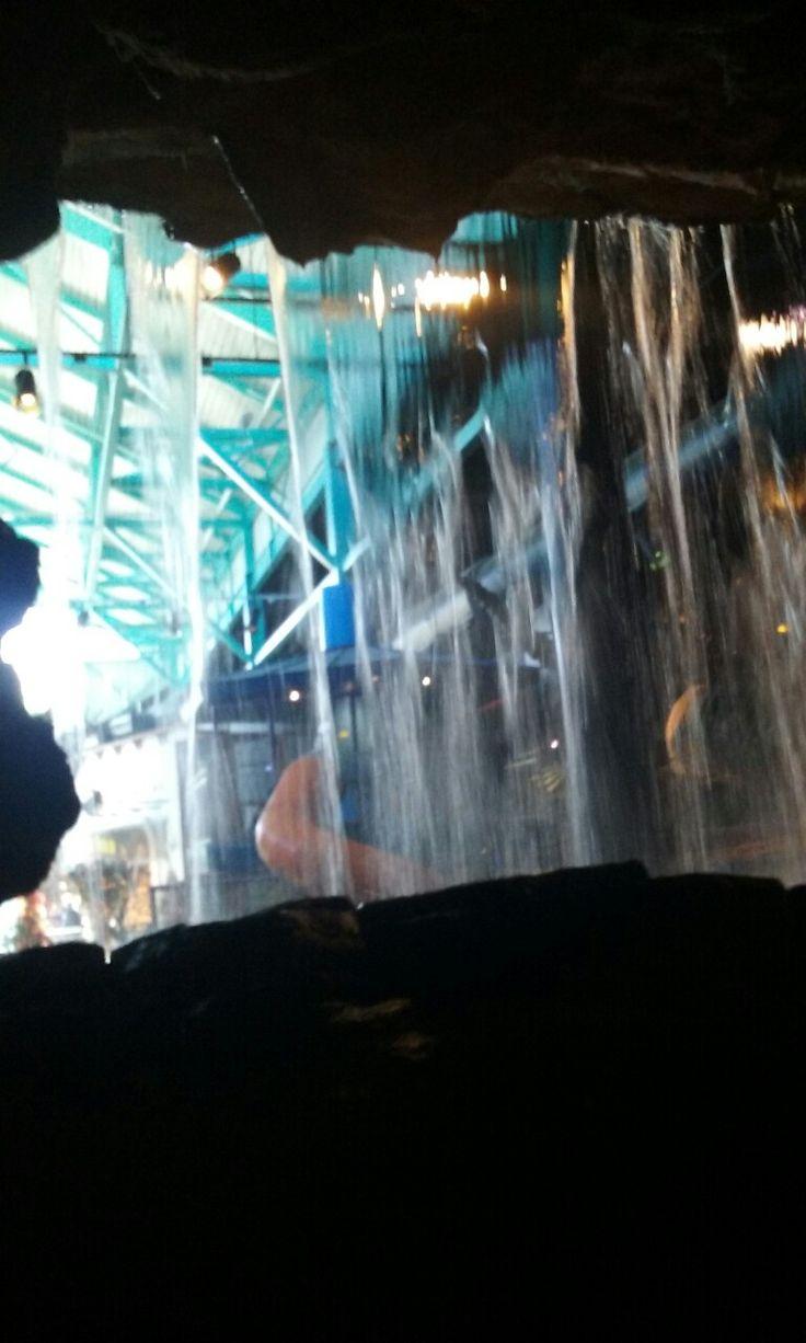 Waterfall Inside of Ripley's Believe it or not Aquarium ...