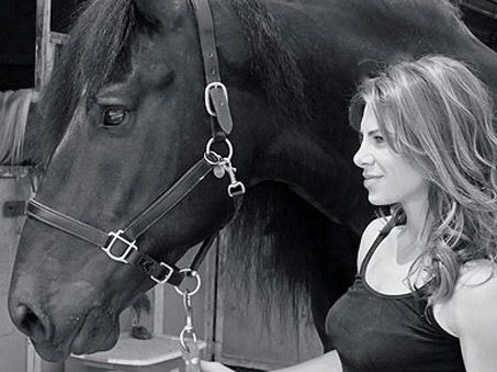 Show Horse Gallery - Jillian Michaels likes Horses? Who Knew…
