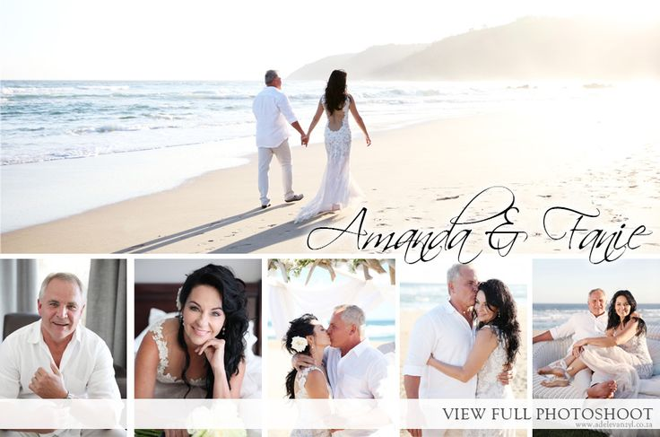 Amanda & Fanie Beach Wedding
