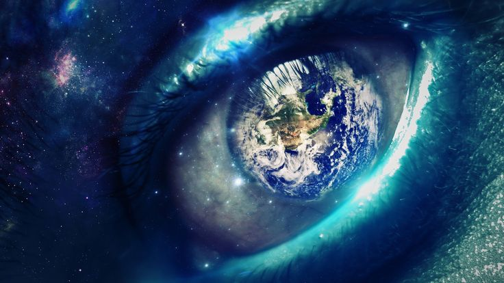 Earths eye