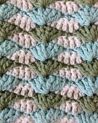 This is the link to the WRITEN instructions for this stitch. This stitch would be best suited for intermediate crocheter's. Another great tutorial from maggiescrochet.com༺✿ƬⱤღ  https://www.pinterest.com/teretegui/✿༻