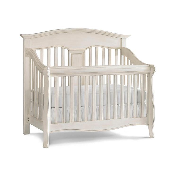 Babi Italia Mayfair Curved Convertible Crib Oyster Shell Babi Italia Babies Quot R Quot Us Baby Crib Diy Baby Cribs Cribs
