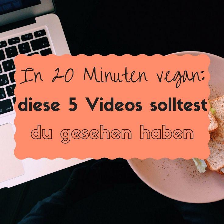 Du möchtest dich eigentlich gerne informieren, hast aber kaum Zeit? Diese 5 kostenlosen veganen Dokus und Videos dauern nur wenige Minuten!