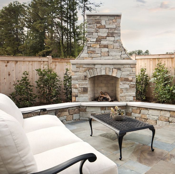 733 best Outdoor fireplace pictures images on Pinterest | Outdoor ...