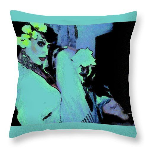Photography Throw Pillow featuring the photograph Like A Cool Breeze by Kia'Ra