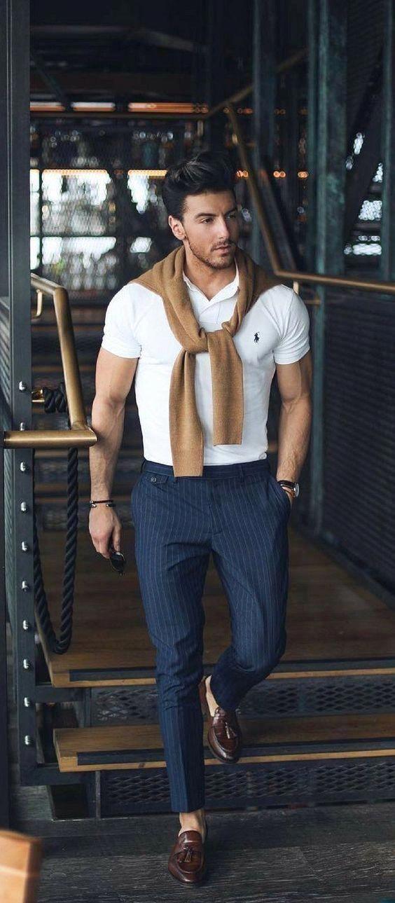 Thats Why Polo shirts for Men Works Everywhere #MensFashionSmart