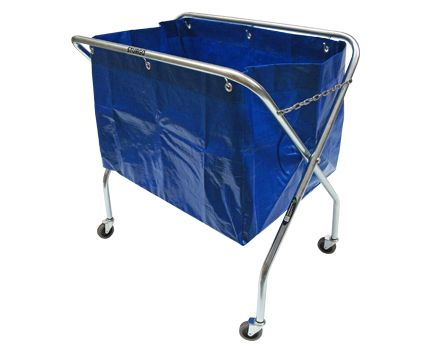 STURGO Waste Trolley. Buy Trolleys / Carts Online - Hand Trolleys, Hand Carts - Backsafe Australia