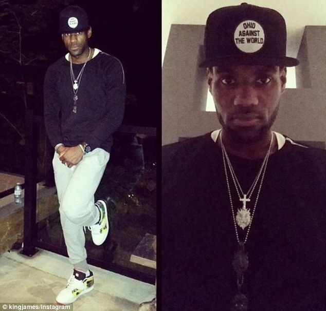 Svelte: LeBron James looks noticeably thinner in the face after cutting carbohydrates out ...