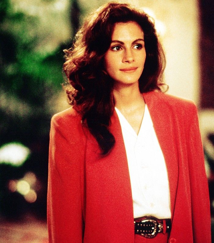 Vivian's (Julia Roberts) polished post-makeover hair and makeup is decidedly sophisticated. // Pretty Woman