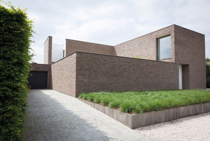 House in Belgium by AR+ architects